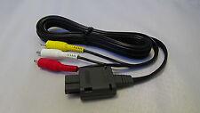 NEW Official Nintendo AV Cable SNES / Nintendo 64 N64 / GameCube Genuine NTSC