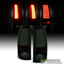 Blk Smoke 2003-2006 Chevy Silverdo GMC Sierra [Lumileds] LED Tail Lights Lamps