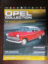 FASCICULE ALLEMAND 18 OPEL COLLECTION KAPITAN PII 1959-1964