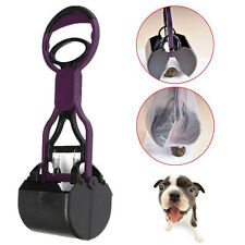 Pet Dog Cat Handle Pooper Scooper Jaw Poop Waste Pickup Scoop Home Yard Clean fo