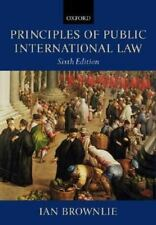 Brownlie's Principles of Public International Law by Crawford