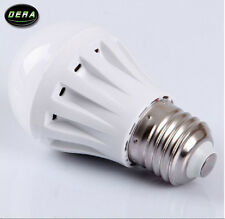 7W E27 LED Bulbs Lamp Home Camp Solar Hunting Emergency Light Warm White DC 12V
