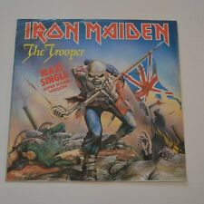 "IRON MAIDEN - THE TROOPER - GERMANY 12"" SINGLE ""SUPER SOUND VERSION"""