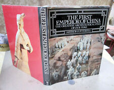 THE FIRST EMPEROR Of CHINA,1981,Arthur Cotterell,1st Ed,Illust,DJ