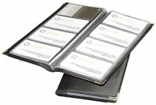 Rolodex Business Card Book 96-Card, Black and Gold (67473) , New, Free Shipping
