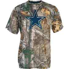 Dallas Cowboys Realtree Outdoor NFL Camo Tee Adult Medium T-Shirt