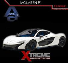 AUTOART 76024 1:18 McLAREN P1 (WHITE) SUPERCAR