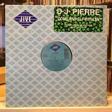 "[EDM]~SEALED 12""~d.j. PIERRE~Come And Fly With Me~{x4 Mix]~Drive Me In Your Car~"