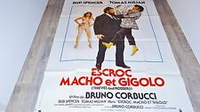 bud spencer  ESCROC MACHO ET GIGOLO   ! affiche cinema