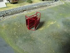 1/64 Custom Scratch-Cast Cattle Y-Section - Red