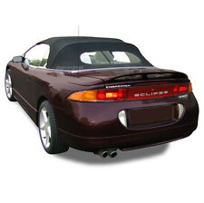Mitsubishi Eclipse 1995-99 Convertible Soft Top & Heated Glass Black Sailcloth