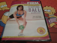 dvd the firm fat-burning sculpting ball workout new sealed tone shape your body