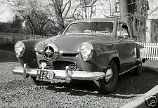 1950 Studebaker Champion Starlite coupe 3 Year old Boy at wheel  8x10 Photograph