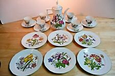 Bareuther Waldsassen Vintage Coffee/Tea Set Floral Bavaria Germany Porcelain