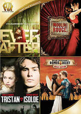 Ever After/Moulin Rouge/Tristanand Isolde/Romeo and Juliet (DVD, 2015)