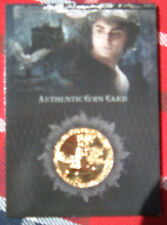Harry Potter Memorable Moments Coin Card CC2 Harry Potter GOLD