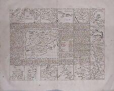 Antiguo Mapa, Carte Espagne