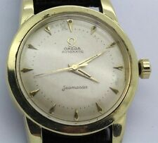 Vintage Omega Seamaster Ref. 2577 Cal 354 14k Gold Shell Automatic Men's Watch