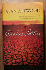 Burke's Soldier by Alan Attwood, First Edition, First Printing FINE FINE SIGNED