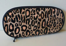 MAC Gold Animal Print Makeup / Brush Bag, Designed by Liz Goldwyn, Brand NEW!