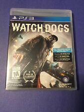 Watch Dogs PS3 *Frist Print* NEW