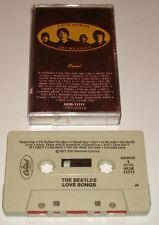 THE BEATLES ORIGINAL LOVE SONGS DOUBLE ALBUM CASSETTE 1977