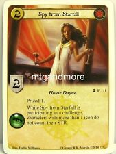 A Game of Thrones LCG - 1x Spy from Starfall  #011 - Spoils of War