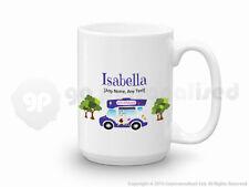 Personalised Gift Ice Cream Van Large Mug Cone Scoop Driver Vendor Present #1