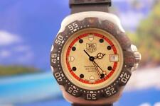 Tag Heuer Classic Black/ Red/Cream on SS Formula 1 Men's/Ladies 37mm Quartz