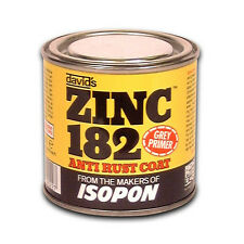 Isopon Zinc 182 Anti-rust Primer - 250ml Paint-Spray Primers Car Maintenance Bod