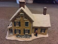 Currier & Ives Museum of New York American Homestead Winter Christmas Village