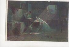 EK Liska Der Witwer [1017] Vintage Art Postcard 219b