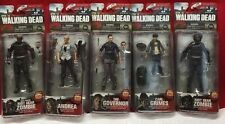Walking Dead Series 4 Mcfarlane Toy Action Figure Lot Andrea, Governor, Carl