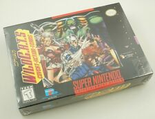 Super Nintendo SNES - Wildcats - Brand New Factory Sealed wild c.a.t.s.