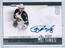 2010-11 SP Authentic SOTT Alexander Burmistrov Auto