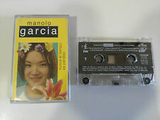 MANOLO GARCIA NUNCA EL TIEMPO ES PERDIDO CASSETTE CINTA TAPE BMG 2003 SPANISH ED