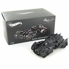 HOT WHEELS ELITE BLY30 BATMAN ARKHAM KNIGHT BATMOBILE 1:43 DIECAST BLACK