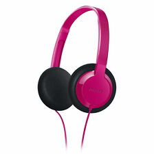 Philips SHK1000PK Earset Earbuds With Microphone For Smartphone SHK1000 Pink