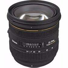 SIGMA 24-70mm F2.8 IF EX DG HSM LENS FOR SONY A-MOUNT & BONUS 16GB SD CARD