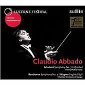 CLAUDIO ABBADO CONDUCTS SCHUBERT, BEETHOVEN AND WAGNER NEW & SEALED