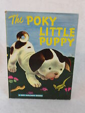 Janette Sebring Lowrey  THE POKY LITTLE PUPPY Golden Press Giant c. 1976