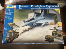 Revell 04376 Eurofighter Typhoon & Shelter Diorama Set 1:72 Scale RARE!