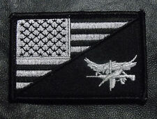 USA Flag Tactical SWAT Eagle Split 3 x 2 inch velcro tactical swat PATCH