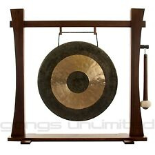 """22"""" Chau Gong on Spirit Guide Gong Stand with Mallet"""