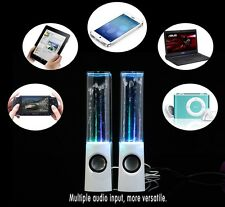 LED Dancing Water Speakers For Iphones, Ipads, Playstation,TV, Laptops, Computer