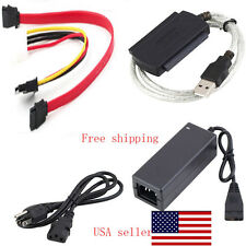 IDE SATA to USB2.0 Adapter Converter Cable for 2.5 3.5 Inch Hard Drive HD OY