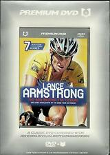 LANCE ARMSTRONG -THE MAN BEHIND THE LEGEND-NEW DVD+BIOGRAPHY BOOK -FREE UK POST
