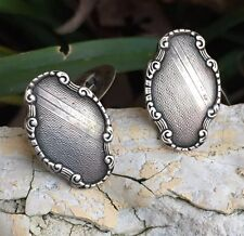 Antique Sterling Silver Cufflinks By Roberts & Dore