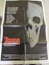 Vintage 1 sheet 27x41 Movie Poster Terror In The Aisles 1984 Donald Pleasence