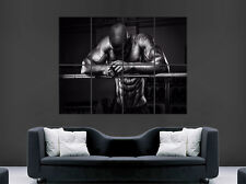 BODYBUILDING MAN POSTER GYM FITNESS WEIGHTS SPORT RIPPED PRINT GIANT